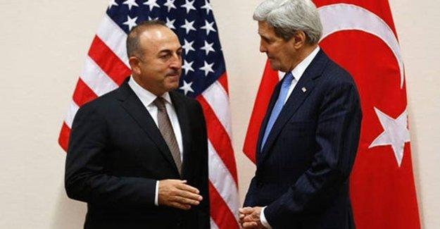 ABD'de Çavuşoğlu-Kerry Görüşmesi