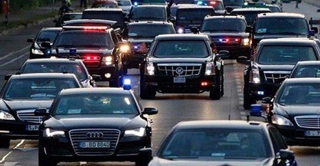 ABD Polisinin Hatası... Erdoğan Trafiğe Takıldı