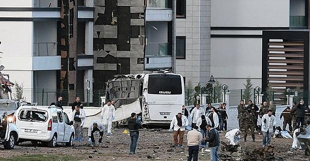 Diyarbakır'da Bombalı Araçla Saldırı