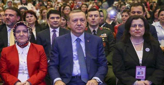 Erdoğan Konuştu Kadınlar Coştu!