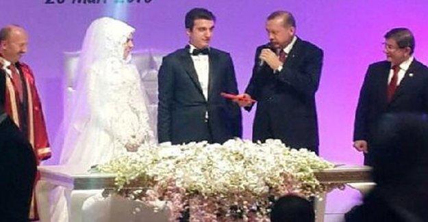 Erdoğan Nikâh Şahitliği Yaptı