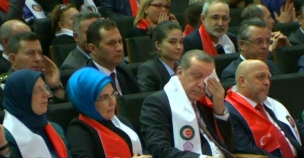 Erdoğan O Sözleri Duyunca Ağladı!