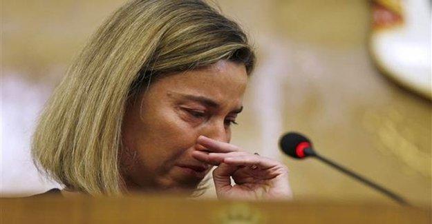 Gözyaşları İçinde Konuştu... Avrupa Şimdi...