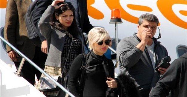 İran'dan İlk Kafile Gazipaşa- Alanya Havalima