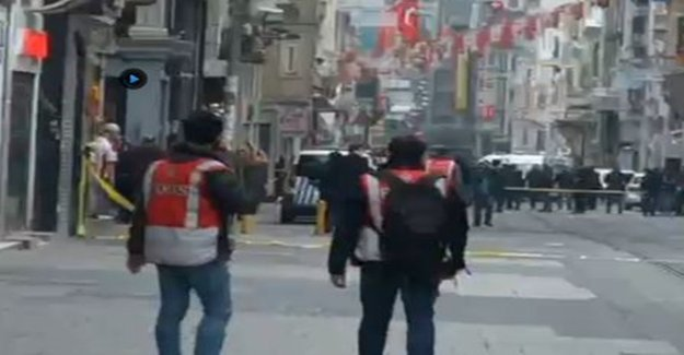 İstiklal Caddesi'nde Patlama! Ölü Ve Yaralılar Var!