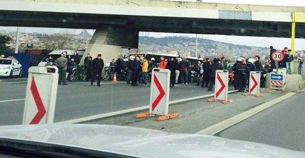Köprü Kapandı, İstanbul Trafiği Felç Oldu