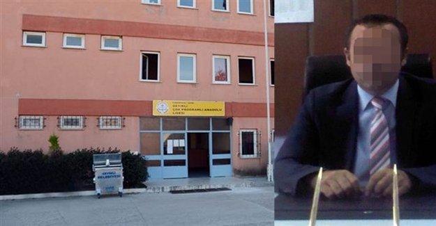 Müdür Öğrencilerini Tacizden Tutuklandı