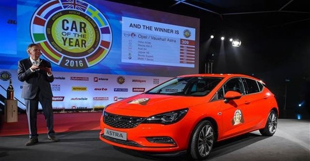 Opel Astra Yılın Otomobili Seçildi