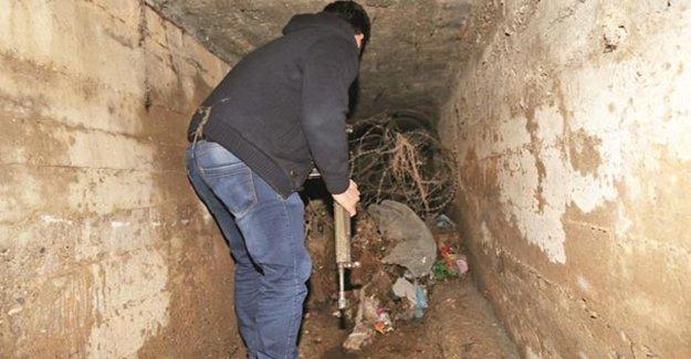 Asker PKK'nın Tüneline Girince Şaştı Kaldı…