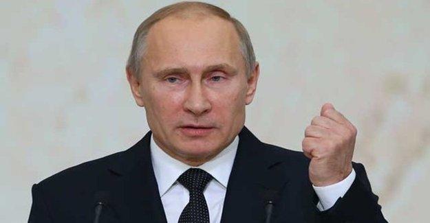 Putin'den Türkiye Halkına Taziye Mesajı