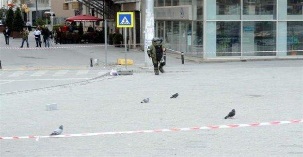 Taksim Meydanı'nda Şüpheli Valiz