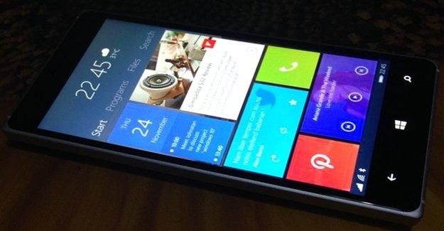 Windows 10 Telefonlara Geliyor