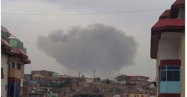 Afganistan'ın Başkenti Kabil'de Patlama