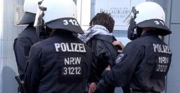 Almanya'da PKK Operasyonu!