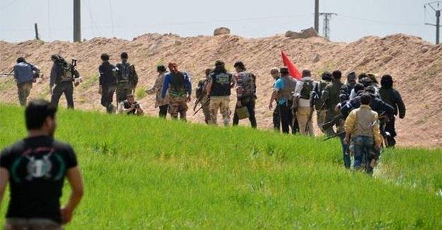 Azez'de DAEŞ İle ÖSO Arasında Çatışma