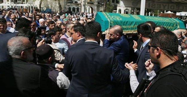 Erdoğan Salih Tuna'yı Acı Gününde Yalnız Bırakmadı