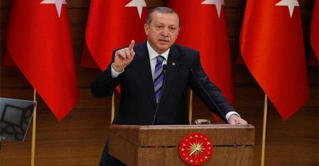 Erdoğan: Şer Örgütün Tahribatı Çok Ağır