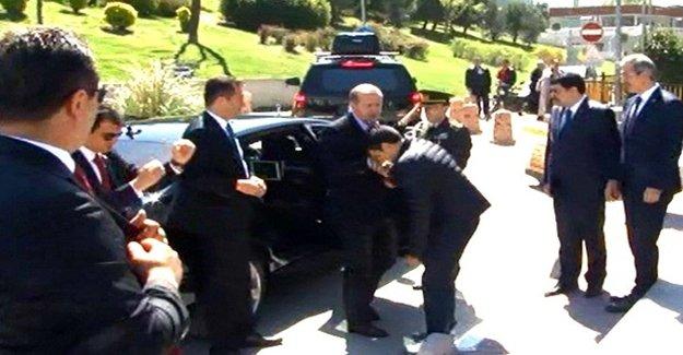 Erdoğan Ziyaret Etti, Damadı Kapıda Karşıladı