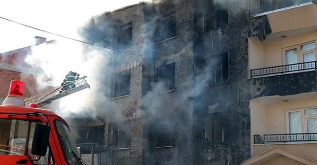 Eskişehir'de Korkunç Patlama! Yaralılar Var...