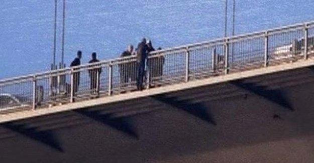 Flaş! Boğaziçi Köprüsü'nde Korku Dolu Anlar