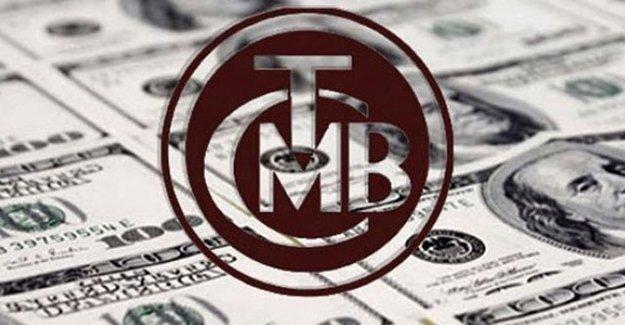 Merkez Bankası Toplam Rezervleri 243 Milyon Dolar Azaldı...
