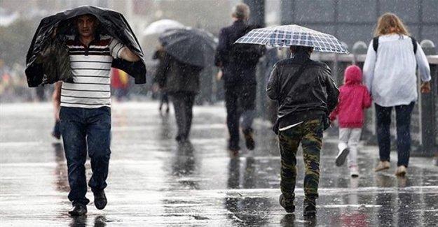 Meteoroloji'den Çok Kritik Yağış Uyarısı!
