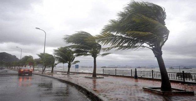 Meteoroloji'den O Bölgeye Fırtına Uyarısı