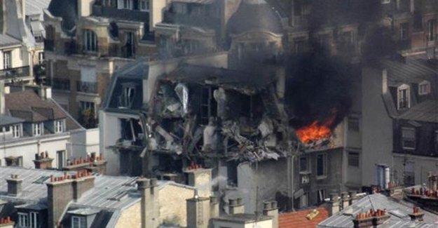 Paris'teki Patlamanın Nedeni Belli Oldu