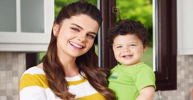 Pelin Karahan'ın Oğlu Reklam Yıldızı Oldu
