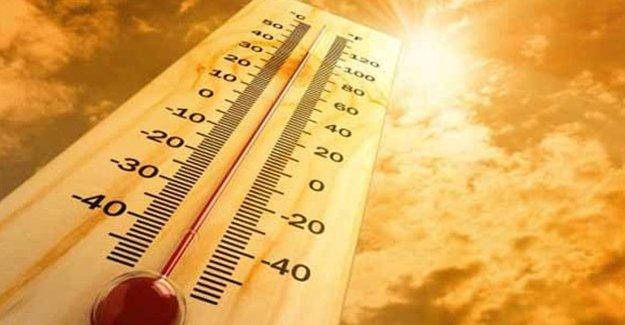 Sıcak Hava Geliyor! 10 Derece Birden...
