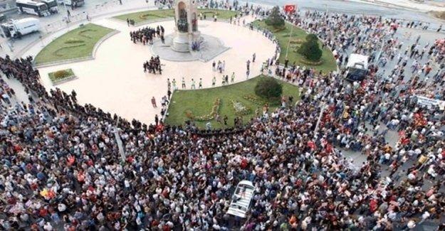 'Taksim Meydanı 1 Mayıs'ta Yine Yasak'