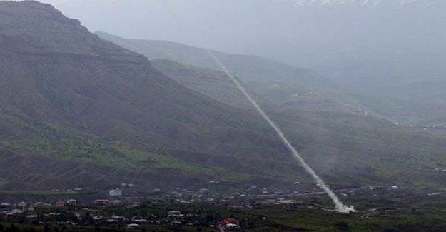 TSK, Irak Sınırındaki PKK Hedeflerini Vurdu