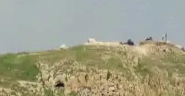 TSK IŞİD'lilerin Binasını Havaya Uçurdu