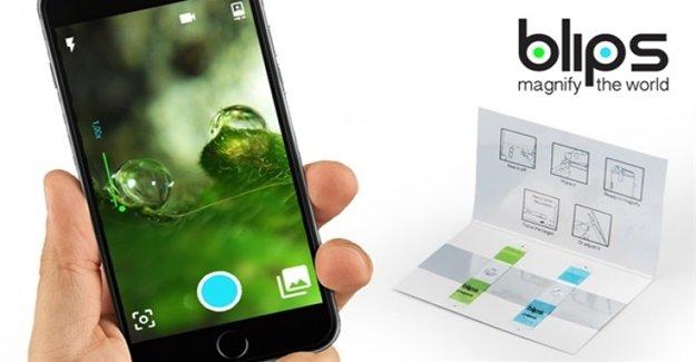 Akıllı Telefonlar Mikroskoba Dönüşüyor!