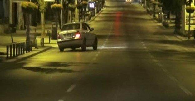 Bağdat Caddesi'nde Korku Yaratan Trafik Canavarı