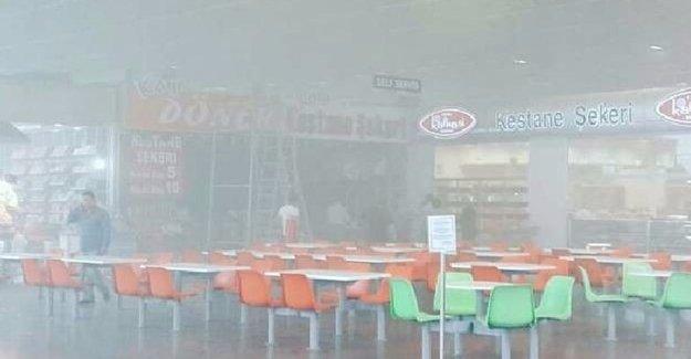 Bursa Şehirlerarası Otobüs Terminali'nde Korkutan Yangın