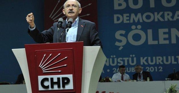 """CHP'liler """"Seçimli Kurultay"""" İçin Harekete Geçiyor"""