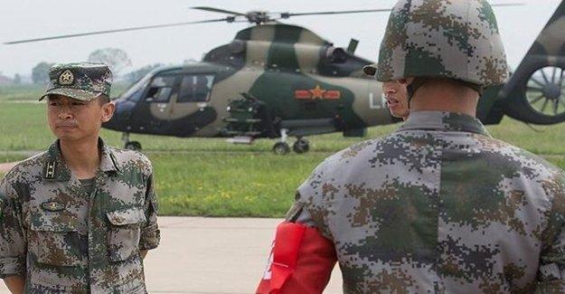 Çin'den Tartışmalı Denizde Askeri Tatbikat