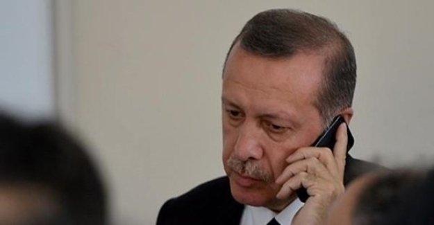Cumhurbaşkanı Erdoğan'dan Hulusi Akar'a Telefon