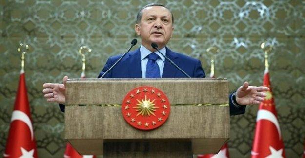 Cumhurbaşkanı Erdoğan'dan 'Sınır Ötesi' Açıklaması