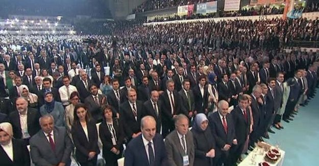 AK Parti Kongresi Erdoğan'ın Mesajı Ayağa Kaldırdı