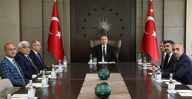 Cumhurbaşkanı Erdoğan Kilis Valisi'ni Kabul Etti