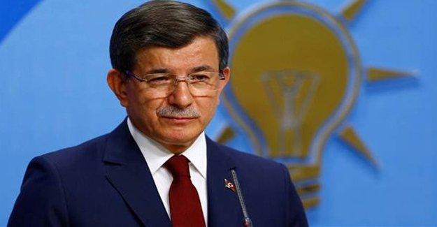 Ahmet Davutoğlu'ndan Erdoğan Mesajı