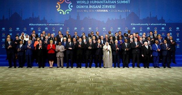 Dünya Liderleri Dünya İnsani Zirvesi İçin İstanbul'da