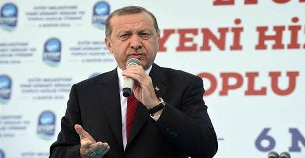 Erdoğan'dan AB'ye Tarihi Rest