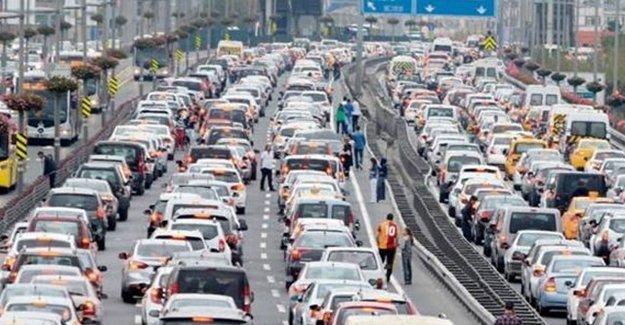 İstanbulluların Trafik Çilesi Başladı!