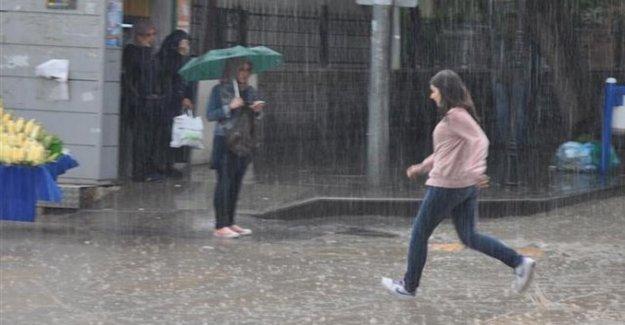 Meteoroloji Ankaralıları Uyardı: Sağanak Yağış Geliyor
