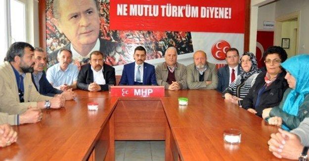 MHP'de Toplu İstifa Depremi