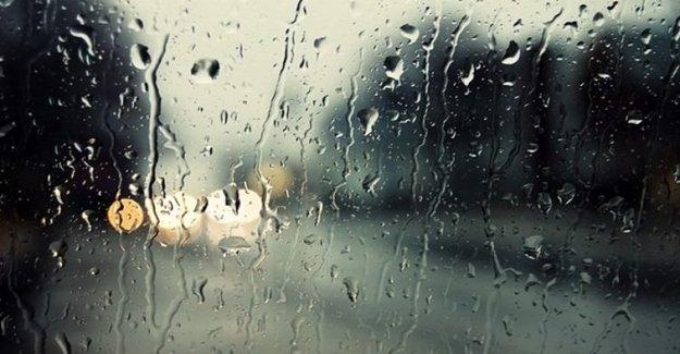 Sıcak Hava Yerini Yağmurlu Havaya Bırakıyor