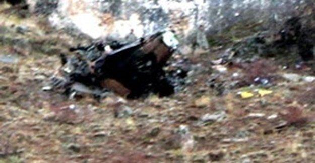 TSK açıkladı: Düşürülen helikopter...